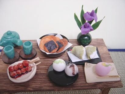 お茶しましょ。 たまには和菓子で