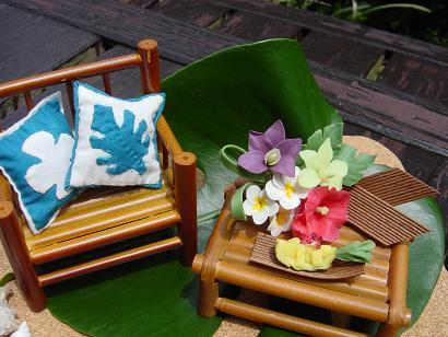 Hawaiian terrace