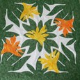 Tahitian Quilt (Bird of paradaise)
