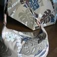 ハワイアンの日傘&バッグ