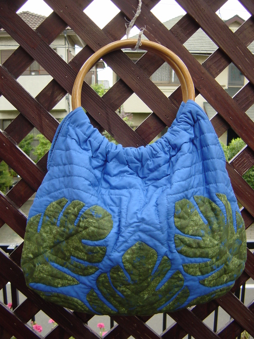 Hawaiian Quilt bag